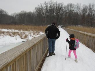 Winter explorers.