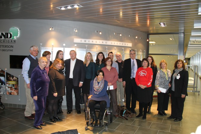 2015 Casual Day Fund charities gather for a photo.