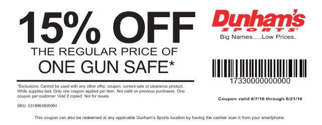 Dunhams Coupon