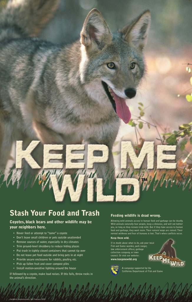 Image result for california fish and wildlife keep me wild