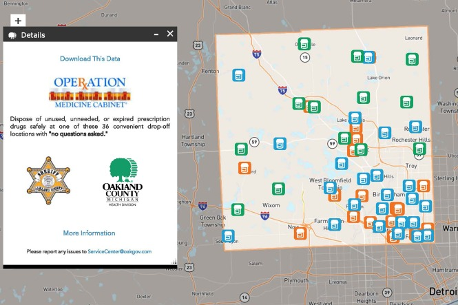 Oakland Community College Farmington Hills Campus Map.Operation Medicine Cabinet Drop Off Locations In Oakland County