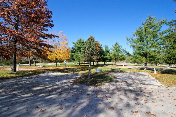 Two 50' x 50' camping lots at Addison Oaks.