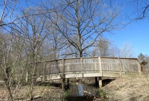 small foot bridge