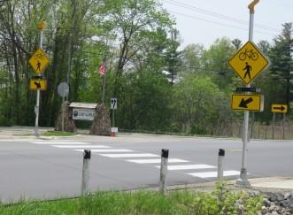 Clarkston Road pathway