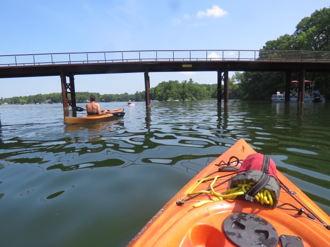 "Slow Row LO"" Adventuring on Lakeville Lake – Oakland County Blog"