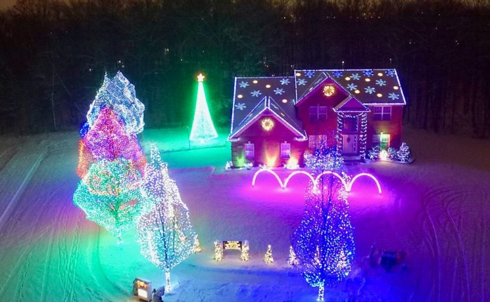 Celebrate the season with a tour of holiday light displays in and around  Oakland County! Show off your decorated property or visit one of the many  holiday ... - Oakland County Holiday Lights Map €� Oakland County Blog