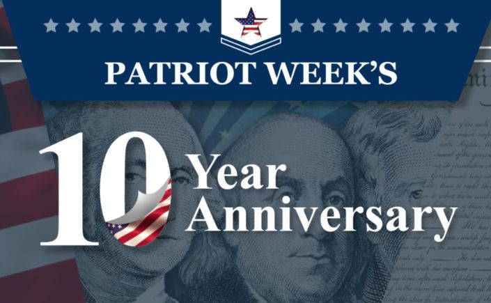 The 10th Anniversary of Patriot Week