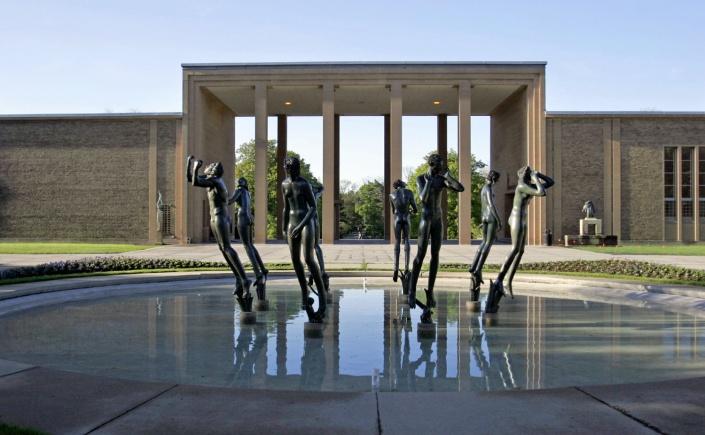 Sculpture at the Cranbrook Art Museum
